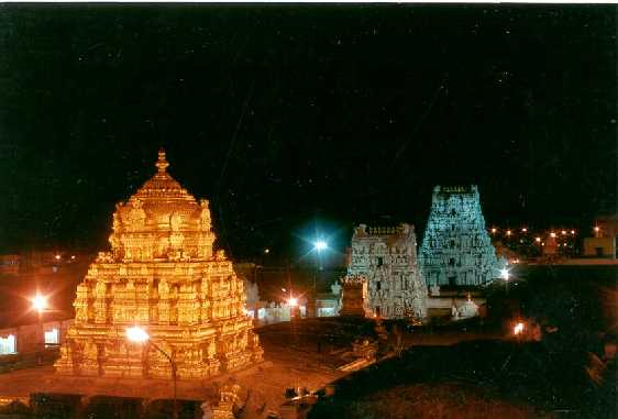 The golden Vimanam@Tirumala, resplendent in glory